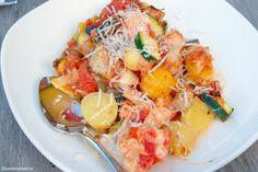 Ovenschotel met kip en Italiaanse groenten 1