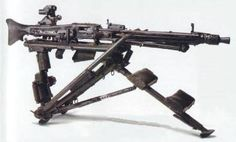 "German MG 42. light weight, man portable and 1200-1500 rounds per minute.""Hitler's Buzzsaw"""