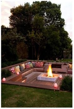 I love this fire pit