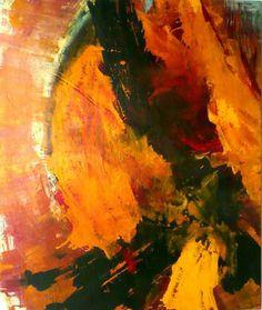 "Saatchi Online Artist K.f.e. Werner; Painting, ""Strong Expression"" #art"