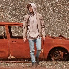 LOOKBOOK - ripped denim pastel hoodies and our classic bomber. Casual cool.