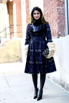 Street Style at New York Fashion Week Fall 2013 | POPSUGAR Fashion