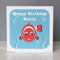 Super Cute Animal Greetings Card With Wibbly Wobbly EyesSend Direct Send