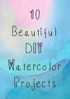 """"""""""" The Beginner's Guide to Watercolor Supplies — Artist Lydia Makepeace """""""" 10 DIY Watercolor Projects """""""" Watercolor Beginner, Watercolor Paintings For Beginners, Watercolor Art Lessons, Painting Lessons, Watercolor Techniques, Watercolor Classes, Beginner Painting, Painting Tips, Painting Art"""