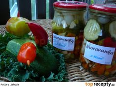 Moravanka Hani, Food N, 20 Min, Preserves, Smoothie, Stuffed Peppers, Homemade, Canning, Chicken