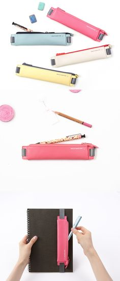The Smiley Attachable Pen Case makes sure that I always have something to write with at all given situation! I never miss a note!