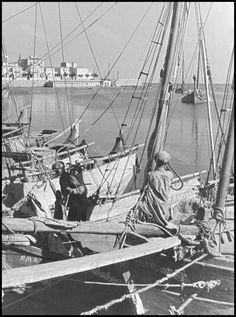 Λιμάνι Ζέας (Πασαλιμάνι), 1/6/1936. Φωτογραφία: Wolff & Tritschler.