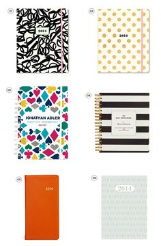 DIY Agenda cover golden dots and b/w stripes