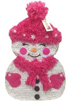Christmas Snow Girl Pinata Christmas Theme Xmas Party Favors