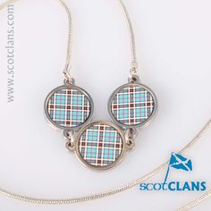 Thompson Tartan Pendant. Free worldwide shipping available.