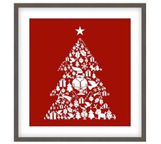 Santa's Cheer Framed Print