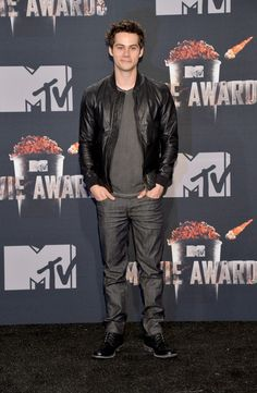 Dylan O'Brien - 2014 MTV Movie Awards - Press Room