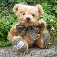 Witney Exclusive Tweedy Bear
