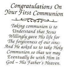 Inspirational Quotes For First Communion. QuotesGram