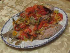 Crap cu legume la cuptor Crap, Tacos, Mexican, Cooking, Ethnic Recipes, Food, Kitchen, Essen, Meals