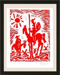 "Pablo Picasso Hand Signed Ltd Edition Print /""Blue Dove of Peace/"" w//COA unframed"