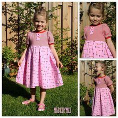 Mama Nähblog: Freebook Prinzessinnenkleid