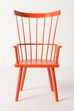 Dalloway Armchair - Anthropologie #orange