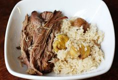 Slow Cooker Kalua Pork Recipe - Oprah.com **** This is in the dinner rotation.  In the slow cooker before we go to bed so we have it the next day.  We love it with sauteed cabbage & sometime fried rice.
