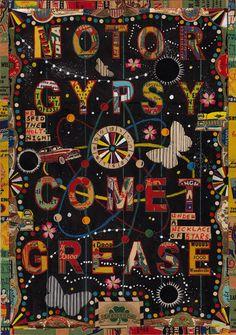 Tony Fitzpatrick, Motor Gypsey Comet Grease
