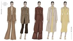 Samson Choi Fashion Design Portfolio, Fashion Design Sketches, All Fashion, Fashion Details, Long Silk Skirt, Fashion Drawing Dresses, Drawing Clothes, Fashion Studio, Summer Collection
