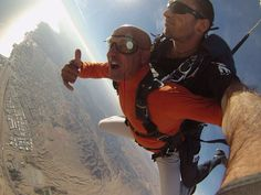 Skydiving in Eilat Eilat, Skydiving, Extreme Sports, Fun, Tandem Jump, Wild Sports, Funny