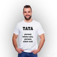 25764e1e716fb Koszulka męska z nadrukiem  Dzień Taty.  tshirt  męski  men  koszulka