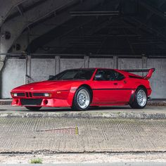 "Opening the ""Famous Owners"" week with a smashing head-turner: This incredible 1980 BMW M1 used to be owned by Frank Farian - record producer, founding member and voice of the 1980s pop band Boney M. The model is a result of the unlikely partnership between BMW and Lamborghini, here presented in a seductive shade of red and featuring a fine black leather interior. This rare, very sought after homologation car is equipped with a 277hp producing 3.453cc 6-cylinder engine with manual… Bmw K100, Bmw Classic Cars, Bmw S, Limited Slip Differential, Pop Bands, Rear Brakes, Manual Transmission, Leather Interior, Cutaway"