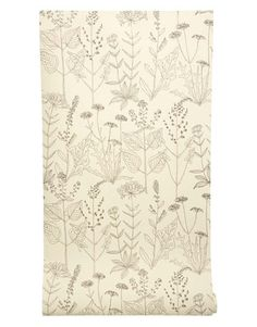 So light and airy! This delicately  hand-drawn design is an absolute charmer. SANDERSON THROUGH ZOFFANY: 800-894-6185.   - HouseBeautiful.com