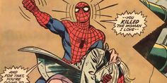 10 Most Tragic Deaths In The History Of Marvel Comics  we still don't actually know how Gwen died. There's been endless debates ever since the comic was published back in 1973, with most settling on the accepted explanation that the sheer velocity of being hurled from the Brooklyn Bridge was enough to kill her, or that the Goblin had already done the deed before Spidey could get there, ensuring his victory over the hero.