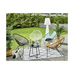 Krzesło ACAPULCO TELEHIT GARDEN Outdoor Furniture Sets, Outdoor Decor, Design, Home Decor, Gardens, Acapulco, Chairs, Interior Design, Design Comics