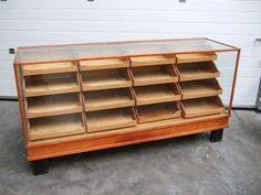 Vintage Haberdashery Drawer Cabinet.  I want one of these.