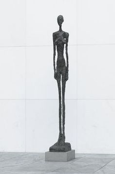 "Tall Figure, III Alberto Giacometti (Swiss, 1901–1966) 1960. Bronze, 7' 9"" x 11 5/8"" x 20 5/8"" (236.2 x 29.5 x 52.4 cm). Gift of Nina and Gordon Bunshaft in honor of the artist. © 2012 Artists Rights Society (ARS), New York / ADAGP, Paris"
