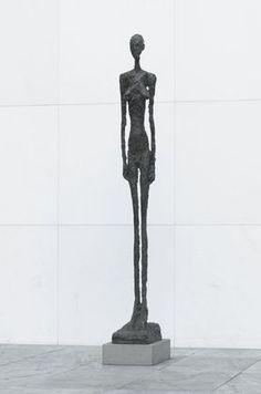 "Tall Figure, III  Alberto Giacometti (Swiss, 1901–1966)    1960. Bronze, 7' 9"" x 11 5/8"" x 20 5/8"" (236.2 x 29.5 x 52.4 cm). Gift of Nina and Gordon Bunshaft in honor of the artist. © 2012 Artists Rights Society (ARS), New York / ADAGP, Paris"