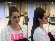 Hairdo & makeup for a photo shoot. Magnificent work done by Sammy and Jay at Dessange. Book an appointment at Dessange Paris- Muscat for this beautiful party look. For more information, call us at +96894018416. #DessangeParis #Salon #Pedicure #HairSalon #HairSpa #Muscat #BeforeAndAfter #FrizzyHair #HairStyles Makeup And Hair Salon, Professional Hair Salon, Hair Spa, Muscat, Frizzy Hair, Party Looks, Pedicure, Jay, Photo Shoot