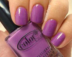 just found this at rite aid yayyy Color Club Lavendarling