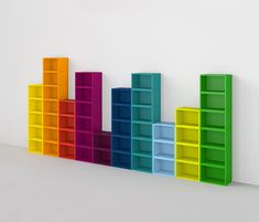 Discover all the information about the product Original design shelf / MDF / for CDs / for DVDs Regalsystem als Equalizer - Mymito GmbH Cubit and find where you can buy it. Contact the manufacturer directly to receive a quote. Craft Room Storage, Room Organization, Kindergarten Interior, Kids Toy Store, Dvd Shelves, Etagere Design, Rainbow Room, Rainbow House, Modular Shelving