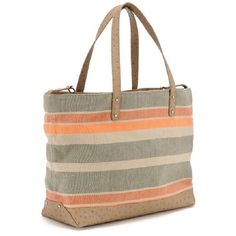 Turkish Stripe Cherish Tote $395