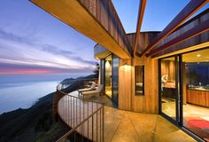 View from Post Ranch Inn (Big Sur, California, USA), a Preferred Boutique hotel