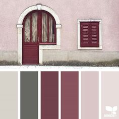 today's inspiration image for { a door hues } is by @in_somnia_ ... thank you, Judith, for another amazing #SeedsColor image share!