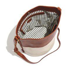 $138 bucket bag madewell