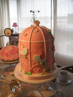 BirdCake Cake en Mesa de Té