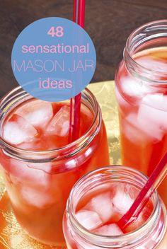 48 sensational mason jar ideas!