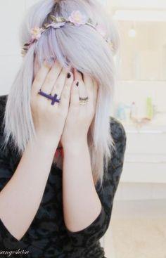 #hair #longhair #hairdye #lavender