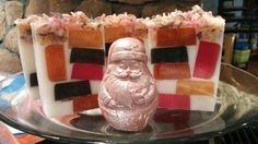 Brown Sugar and Fig. Santa standing guard