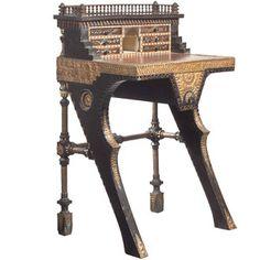 Carlo Bugatti Writing Desk