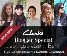 Clarks zeigt ein Blogger Special auf http://www.clarks.de/de-de/clarks-berlin - Das Gewinnspiel ist nun beeandet, Clarks Fans konnten für ihren Lieblings-Blog voten und Winterschuhe gewinnen.