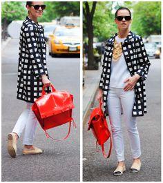 Kate Spade Coat, Chanel Espadrilles, 3.1 Phillip Lim Bag, Joe Fresh Top