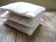 The Homemade Dream Pillow - dried herbs inside with fragrances that soothe you to sleep