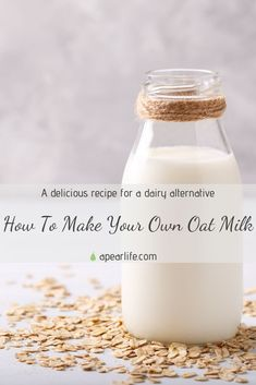 """Read the new post """"How To Make Your Own Oat Milk"""". During this year, I have been more motivated than ever to pursue a healthier diet by making my own food and products. Not only is it rewarding to feel the pride of making something yourself, it is also incredibly beneficial to your health when you know exactly what goes into your body. I hope you enjoy my special recipe.  #oatmilk #oatmilkrecipe #oatmilklatte #ilovedairytoo #body Relaxation Scripts, Guided Relaxation, Best Party Food, Meditation For Beginners, Body Hacks, Seasonal Food, Food For A Crowd, Special Recipes, Cheap Meals"""
